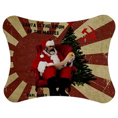 Karl Marx Santa  Jigsaw Puzzle Photo Stand (bow)