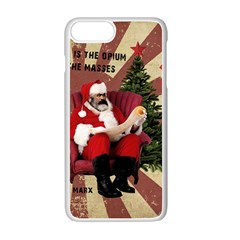 Karl Marx Santa  Apple Iphone 7 Plus Seamless Case (white)