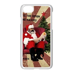 Karl Marx Santa  Apple Iphone 7 Seamless Case (white)