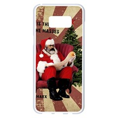 Karl Marx Santa  Samsung Galaxy S8 Plus White Seamless Case