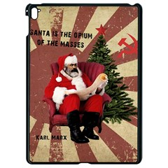 Karl Marx Santa  Apple Ipad Pro 9 7   Black Seamless Case