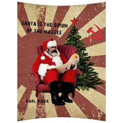 Karl Marx Santa  Back Support Cushion