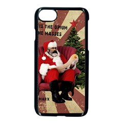 Karl Marx Santa  Apple Iphone 8 Seamless Case (black)