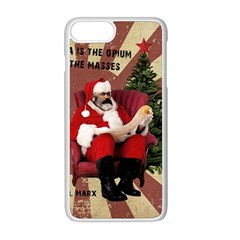 Karl Marx Santa  Apple Iphone 8 Plus Seamless Case (white)