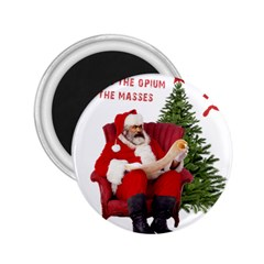 Karl Marx Santa  2 25  Magnets