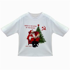 Karl Marx Santa  Infant/toddler T Shirts