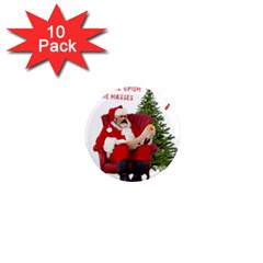 Karl Marx Santa  1  Mini Magnet (10 Pack)