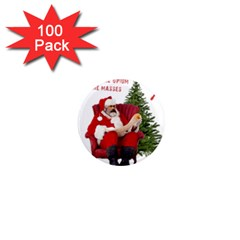 Karl Marx Santa  1  Mini Magnets (100 Pack)