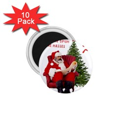 Karl Marx Santa  1 75  Magnets (10 Pack)