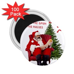 Karl Marx Santa  2 25  Magnets (100 Pack)