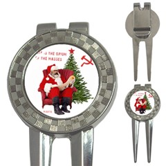 Karl Marx Santa  3 In 1 Golf Divots
