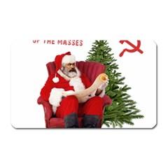 Karl Marx Santa  Magnet (rectangular)