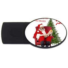 Karl Marx Santa  Usb Flash Drive Oval (2 Gb)