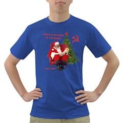 Karl Marx Santa  Dark T Shirt