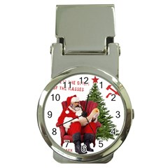 Karl Marx Santa  Money Clip Watches