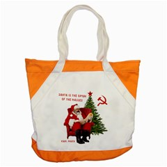 Karl Marx Santa  Accent Tote Bag