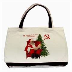 Karl Marx Santa  Basic Tote Bag (two Sides)