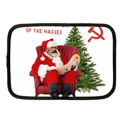 Karl Marx Santa  Netbook Case (medium)