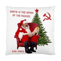 Karl Marx Santa  Standard Cushion Case (two Sides)