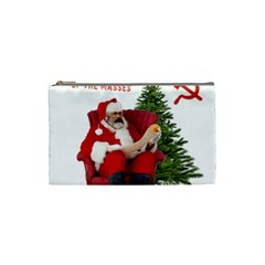 Karl Marx Santa  Cosmetic Bag (small)