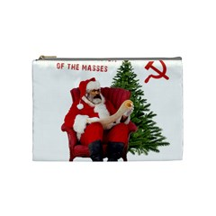 Karl Marx Santa  Cosmetic Bag (medium)