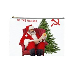 Karl Marx Santa  Cosmetic Bag (large)