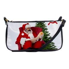 Karl Marx Santa  Shoulder Clutch Bags