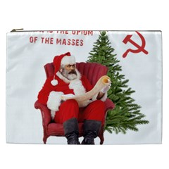 Karl Marx Santa  Cosmetic Bag (xxl)