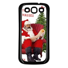 Karl Marx Santa  Samsung Galaxy S3 Back Case (black)