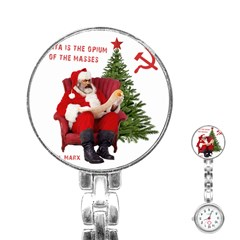Karl Marx Santa  Stainless Steel Nurses Watch