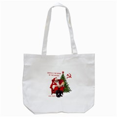 Karl Marx Santa  Tote Bag (white)