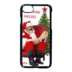 Karl Marx Santa  Apple Iphone 7 Seamless Case (black)