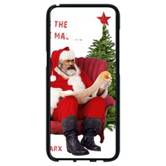 Karl Marx Santa  Samsung Galaxy S8 Black Seamless Case