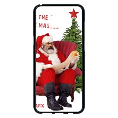 Karl Marx Santa  Samsung Galaxy S8 Plus Black Seamless Case