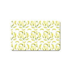 Chilli Pepers Pattern Motif Magnet (name Card)