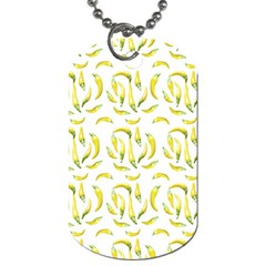 Chilli Pepers Pattern Motif Dog Tag (one Side)