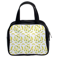 Chilli Pepers Pattern Motif Classic Handbags (2 Sides)