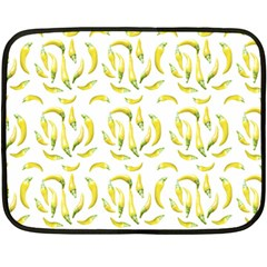 Chilli Pepers Pattern Motif Fleece Blanket (mini)
