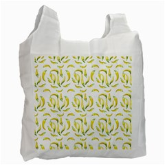 Chilli Pepers Pattern Motif Recycle Bag (one Side)