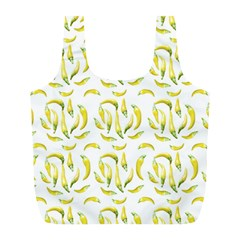 Chilli Pepers Pattern Motif Full Print Recycle Bags (l)