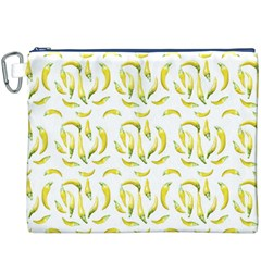 Chilli Pepers Pattern Motif Canvas Cosmetic Bag (xxxl)