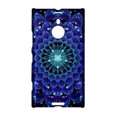 Accordant Electric Blue Fractal Flower Mandala Nokia Lumia 1520