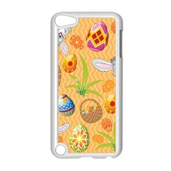 Easter Bunny And Egg Basket Apple Ipod Touch 5 Case (white)