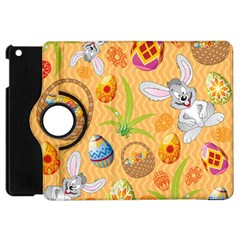 Easter Bunny And Egg Basket Apple Ipad Mini Flip 360 Case