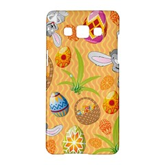 Easter Bunny And Egg Basket Samsung Galaxy A5 Hardshell Case