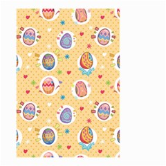 Fun Easter Eggs Small Garden Flag (two Sides)