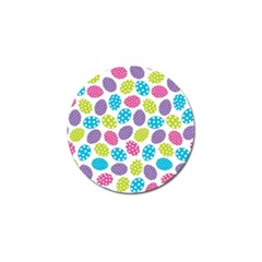Polka Dot Easter Eggs Golf Ball Marker (4 Pack)