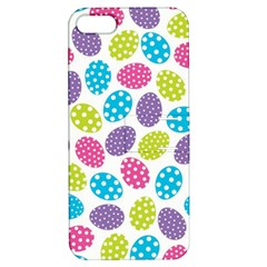 Polka Dot Easter Eggs Apple Iphone 5 Hardshell Case With Stand