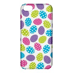 Polka Dot Easter Eggs Apple Iphone 5c Hardshell Case