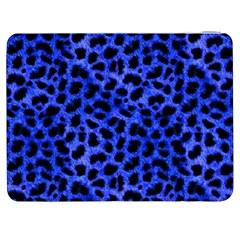 Blue Cheetah Print  Samsung Galaxy Tab 7  P1000 Flip Case